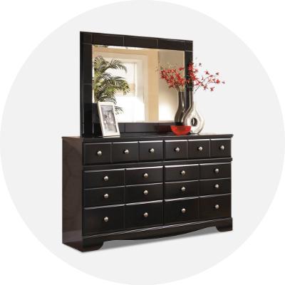 Mirrored Dressers
